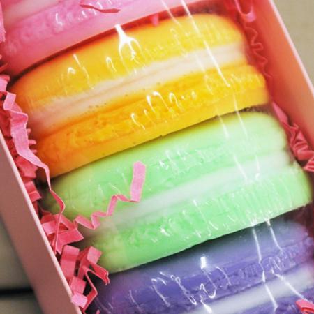 buy macaron soaps